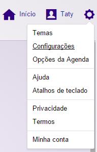 Configuracoes email Yahoo